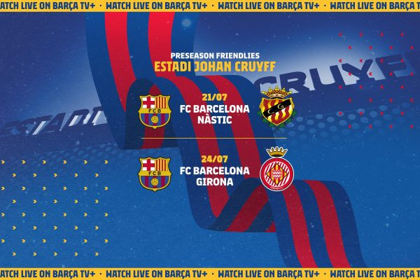 Barcelona have almost completed their pre-season schedule