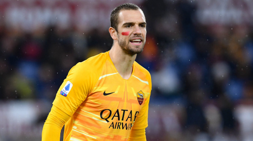 Roma have confirmed The release of Spanish goalkeeper Pao Lopez